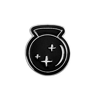 Spells Black Moon Pins Badge Broches Lapel Pin