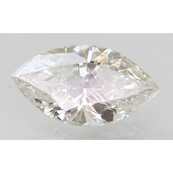 Certificado 1.01 Quilates E VS1 Marquise Enhanced Natural Loose Diamond 9.71x5.23mm
