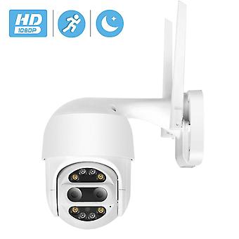 BESDER 1080P HD PTZ IP Camera Wifi Outdoor Auto Tracking 2MP CCTV Security Camera 4X Optical Zoom Al