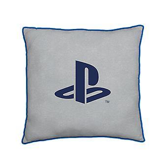 Playstation Blauw Vierkant Kussen