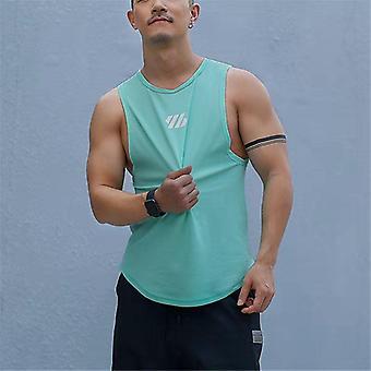 Hommes Bodybuilding Tank Tops Gym Workout Fitness Cotton Sleeveless Shirt