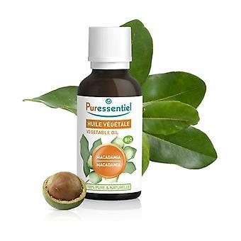 Macadamia Vegetable Oil 30 ml of oil