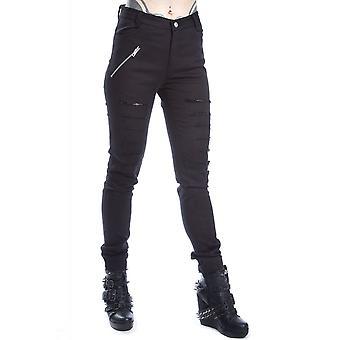 Vixxsin Daisy Distressed Gothic Pants