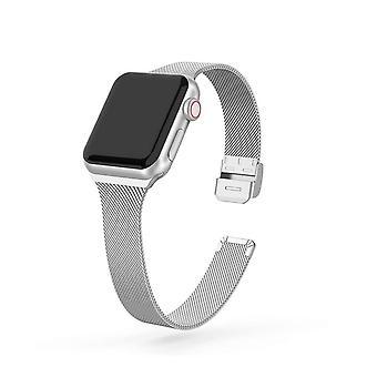 Slim Metal Bracelet Loop Strap Iwatch For Apple
