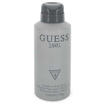 Guess 1981 door Guess body spray 5 oz (mannen) V728-547817