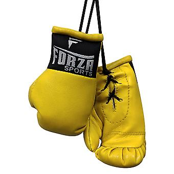 Forza Sports Mini Boxing Gloves - Yellow