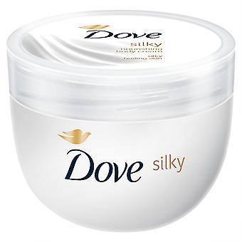 Dove Silky Nourishing Body Cream For Silky Pampering Skin, 300ml