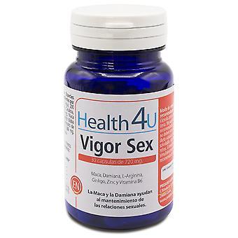 Health 4U 720mg Sex Vigor 30 Capsules