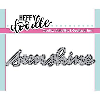 Heffy Doodle Sunshine meurt