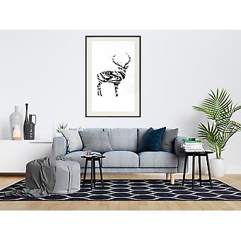 Poster - Marble Stag-30x45