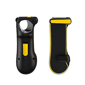 PUBG mobiele automatische hoge frequentie tap tablet controller, mobiele game controllers ontworpen voor Cod Mobile / PUBG shooting games en gaming joysticks voor iPad / Android Tablet (zwart)