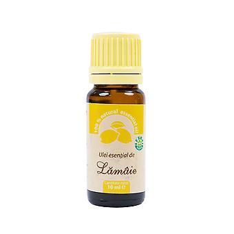 Aceite esencial de limón (Citrus limon L.) 100% puro sin adición, 10 ml