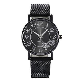 Ladies Mesh Belt Watch, Wild Creative Wrist Bracelet Women Watches
