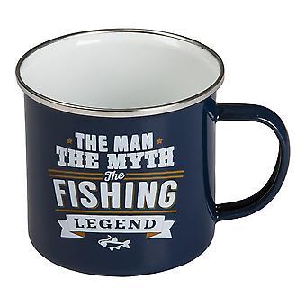 Retro mugg Fishing legend