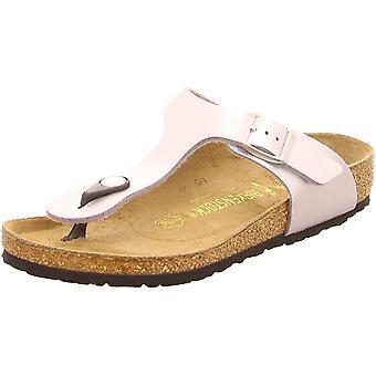 Birkenstock Unisex-Child Gizeh Kids Hopea synteettiset sandaalit 32,0 N EU N 846153