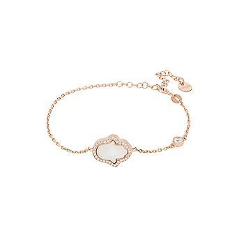 Hamsa Opalite Witte Armband Rosegold