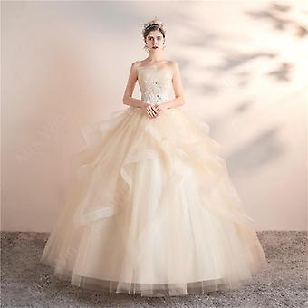 Party Prom Elegante Vestido de vestido de baile sin tirantes (Set 1)
