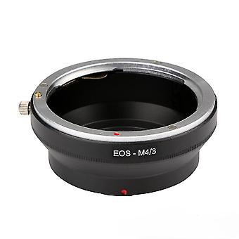 Canon eos-m4/3 adapter ring compatible with olympus panasonic cameras