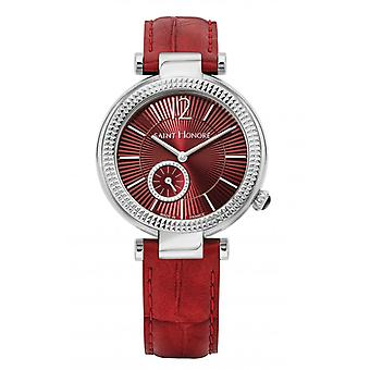 Montre Femme Saint Honor 7620211REFIN-F - Red Leather Strap
