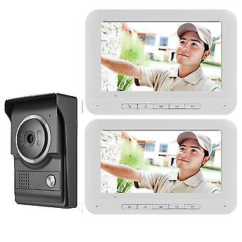Video Ring Doorbell Camera Visual Intercom Night Vision & Door Entry Phone Call
