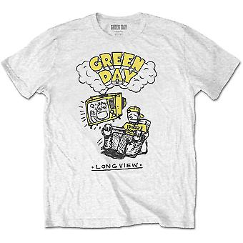 Green Day - Longview Doodle Men's XX-Large T-Shirt - White