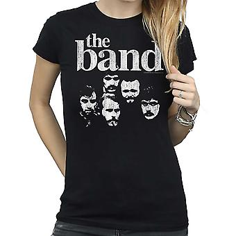 The Band - Heads Women's Medium T-Shirt - Czarny