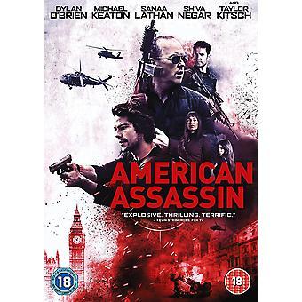 Amerikansk lönnmördare DVD