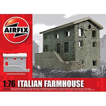 イタリアの農家樹脂台無し建物空気修正モデルキット