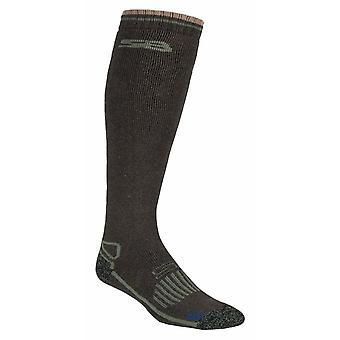 Herren Knie High Wool Wellington Boot Socken