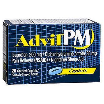 Advil Advil Pain Reliever And Nighttime Sleep Aid, 20 caplets
