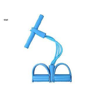 Sit Up Aid, Kannettava Säädettävä Istua Ylös avustin, Istu ylös lihasharjoittelu runko (SININEN)