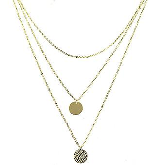 Dámské náhrdelník vícevrstvé kovové slitiny přívěsek pro míč