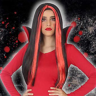 Halloween peruukki punainen 118202