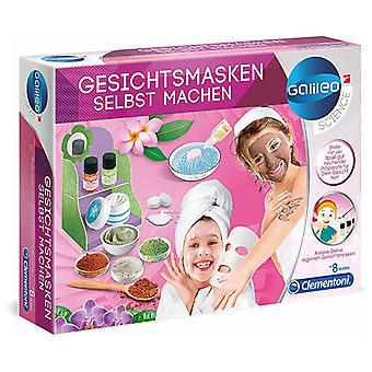 Beauty Kit Science and play: Beauty Masks Clementoni (7 x 35 x 26 cm)