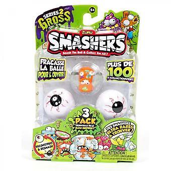 Smashers Pack De 3 Smashers Saison 2
