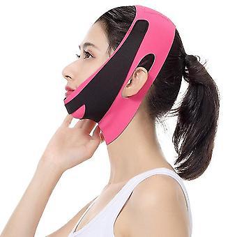 Ansigtsløftning Bælte V Line Bandage Facial Slankende Strap Reducer Face Shaper