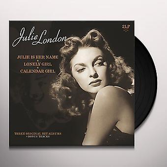 Julie London - Three Original Hit Albums & Bonus Tracks Vinyl