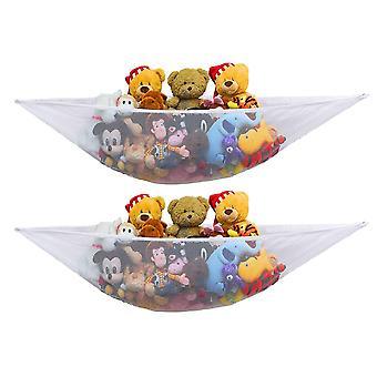 2 PK - Stuffed Animal Jumbo Toy Storage Hammock