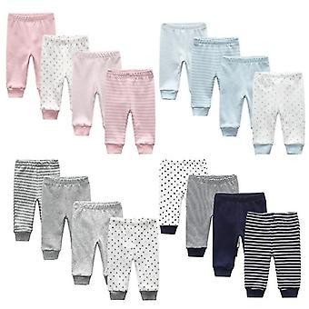 Newborn Cartoon Four Seasons Cotton Soft Pants Baby Trousers