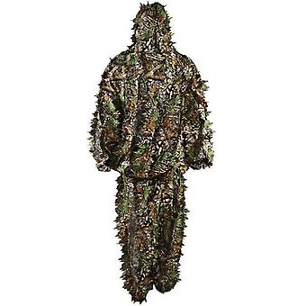 Suits Leaf Camouflage Ghillie Suit Woodland Camo 3d Hunting Jungle Camouflage Outfit Hunting