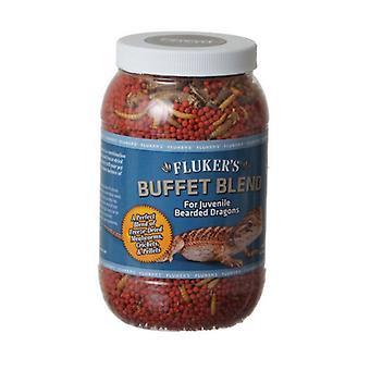 Flukers Buffet Blend for Juvenile Bearded Dragons - 4.4 oz