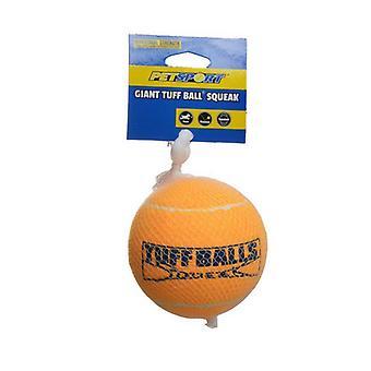 "Petsport USA Tuff Ball Squeak Dog Toy - Giant - 1 Pack - (4"" Diameter Ball)"