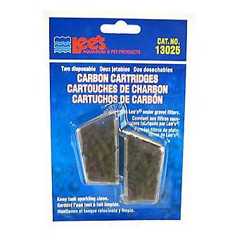 خراطيش الكربون المتاح Lees - 2 حزمة
