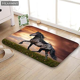 Fußmatte Pferd Home Mat Maschine gemacht Anti Slip Teppich Wohnzimmer