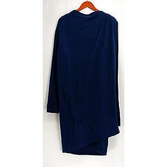 Cuddl Duds Bleu Marine Polairewear Stretch Long Wrap Foulard