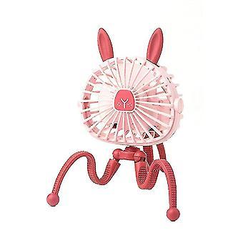 Ventilateurs à main alimentés misters mini ventilateur électrique suspendu réglable octopus stand portable portable usb chargeur ventilateur refroidisseur pour