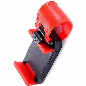 Speaker bags  covers cases 10pcs universal car steering wheel phone holder bracket for iphone 4 5 6s plus for samsung