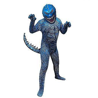 Halloween Godzilla Cosplay kjole et stykke levende med hale