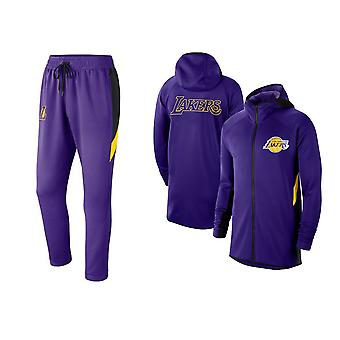 Los Angeles Lakers Basketball Pullover Hoodieoutfit Sets