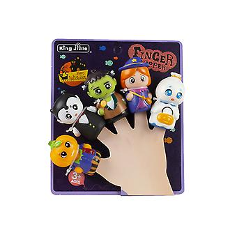 Seeunique 5pcs Halloween Handpuppe Spielzeug Sortiment für Halloween Party Favors Goody Bag Füller / Thema A